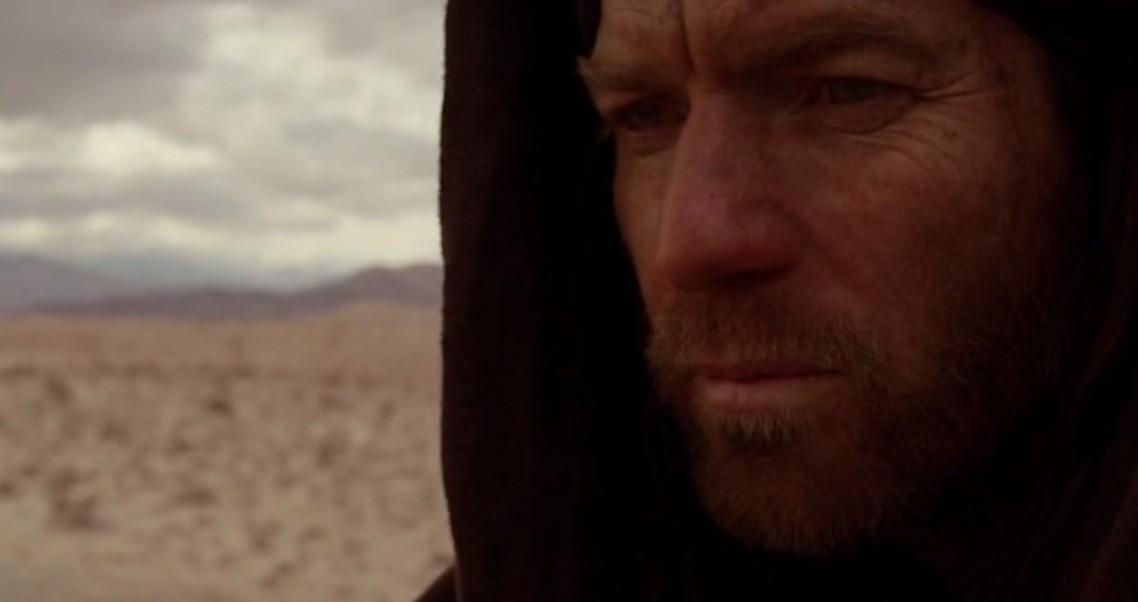 Closeup of Obi-Wan Kenobi.