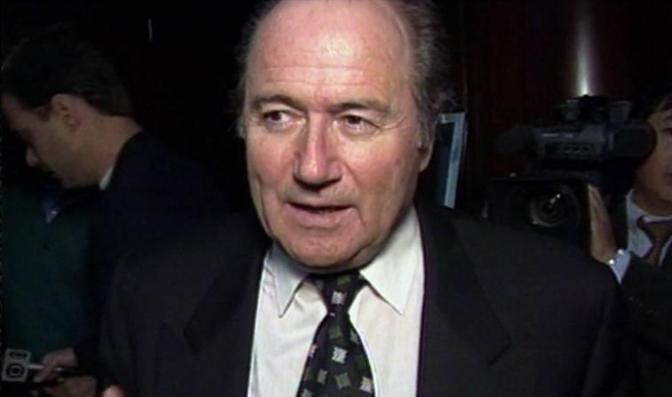 Man in a tie being filmed