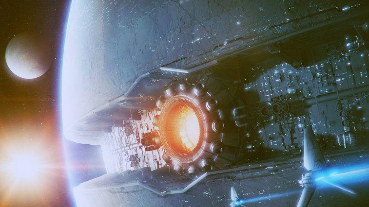 Starkiller Base in Star Wars The Force Awakens