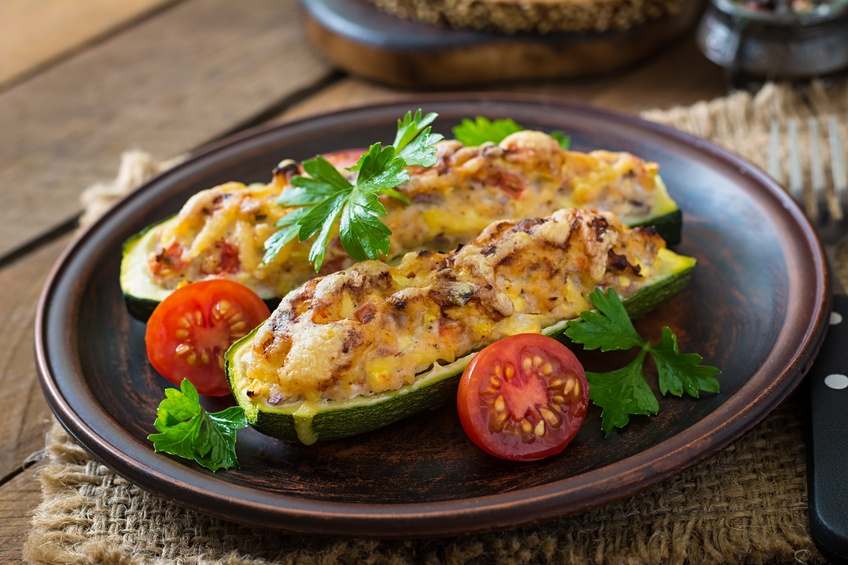 zucchini with chicken