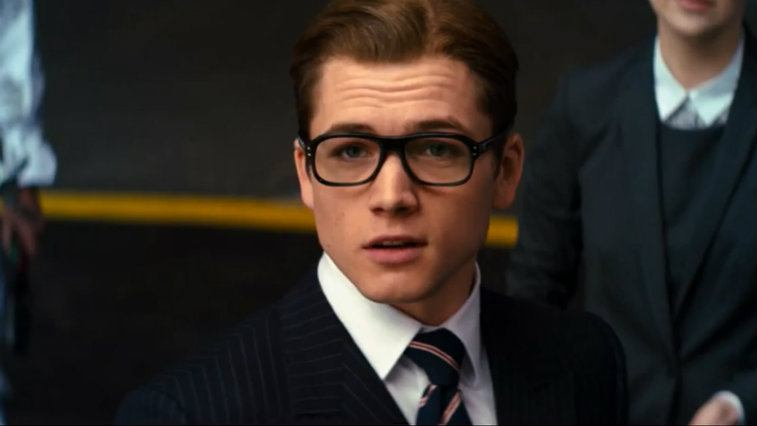 Taron Egerton in Kingsman The Secret Service