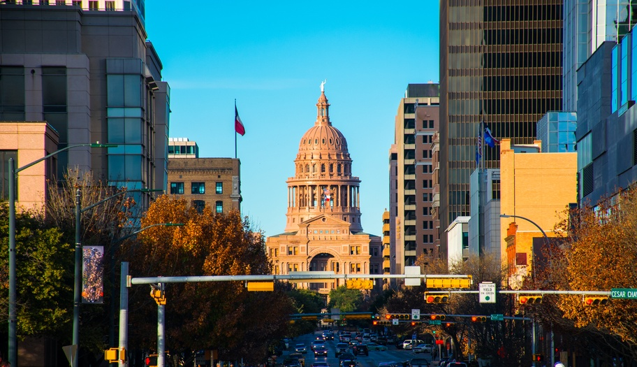 View of Texas Capitol