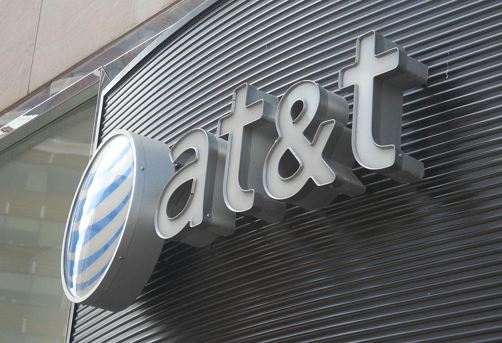 The AT&T logo