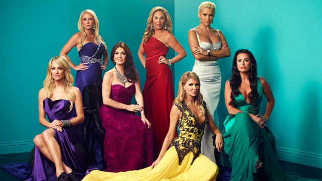 'The Real Housewives of Beverly Hills' introduction showing cast.
