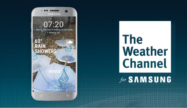 The Weather Channel for Samsung - Samsung apps