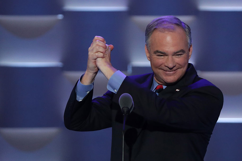 Tim Kaine at the DNC in 2016