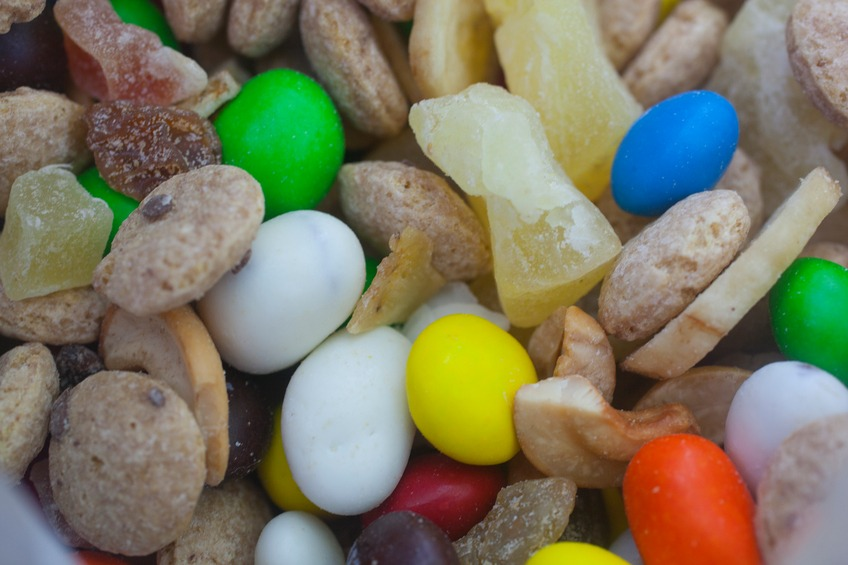 homemade trail mix.