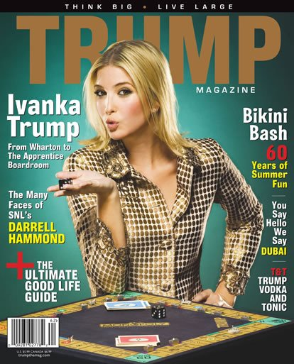 Trump magazine cover