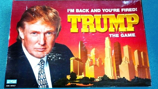 Trump, the game