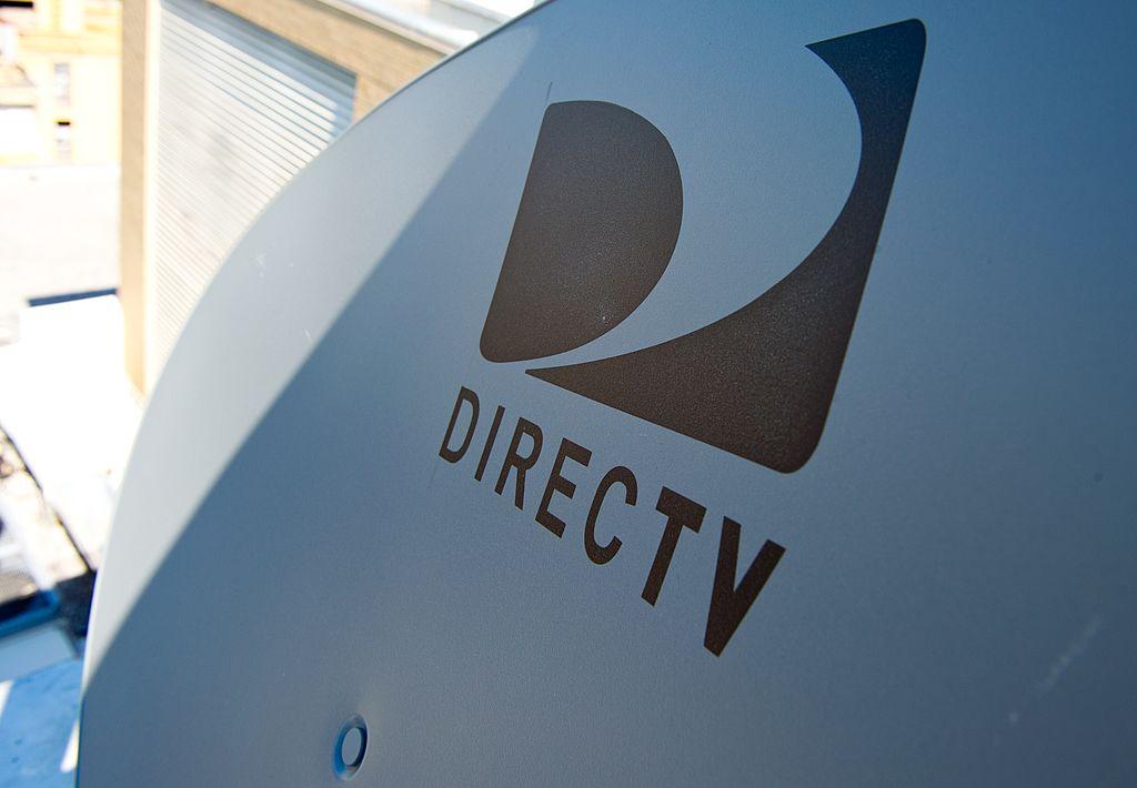 Satellite dish belonging to DirecTV
