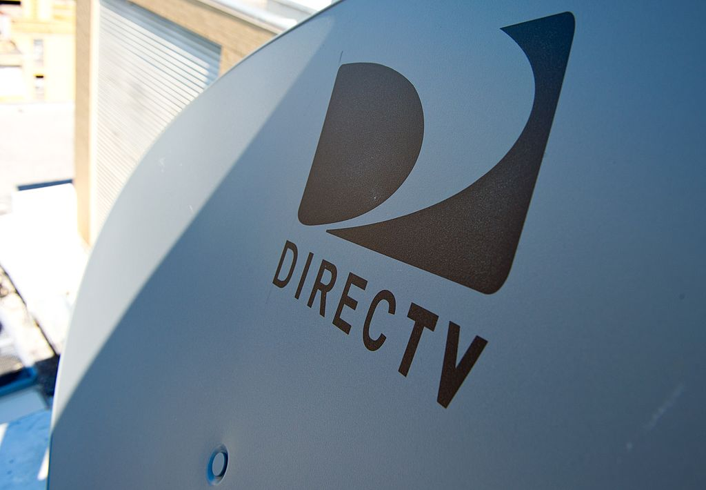 Satellite dish belonging to DirecTV