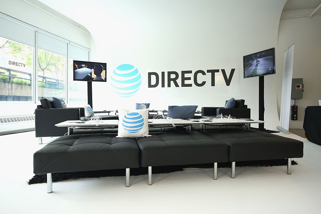 DIRECTV on display