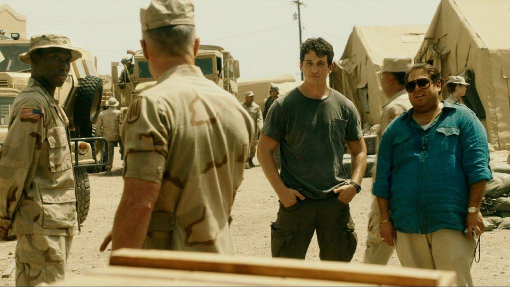 Jonah Hill and Miles Teller in War Dogs | Source: Warner Bros.
