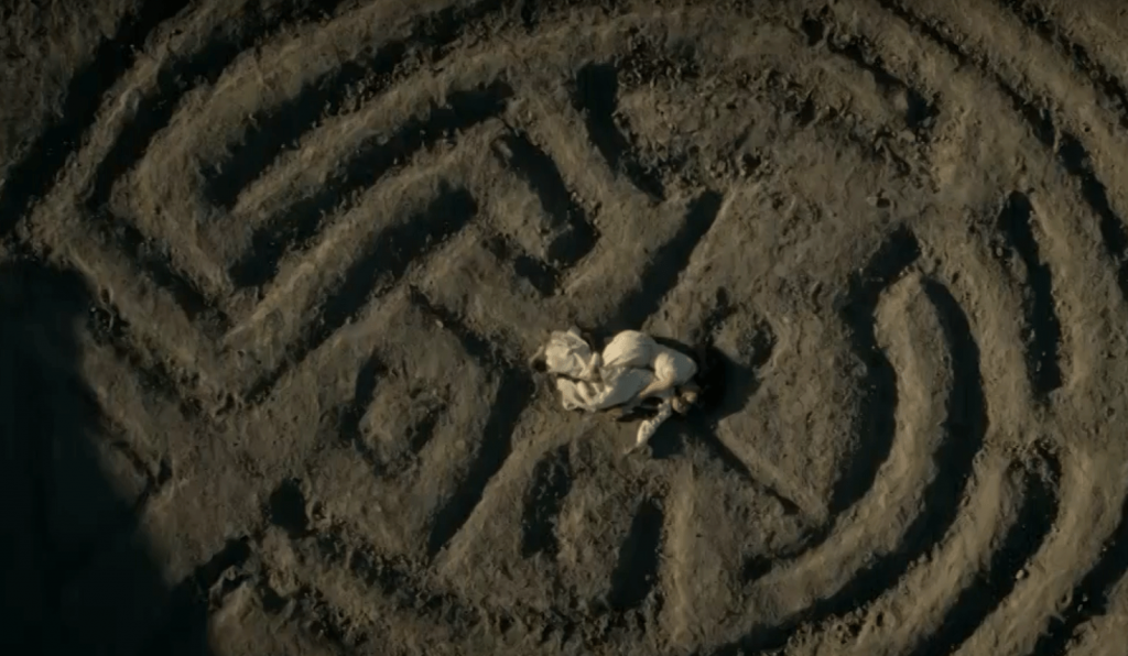 The maze in Westworld
