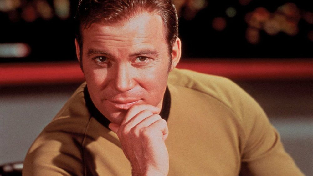 William Shatner in Star Trek