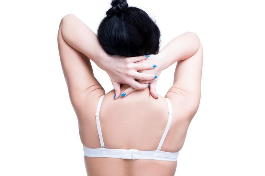 woman doing neck massage