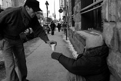 Act of kindness.