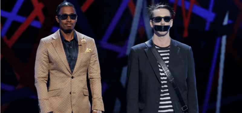 Tape Face on America's Got Talent