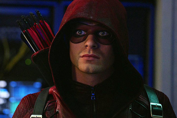 Colton Haynes in Arrow