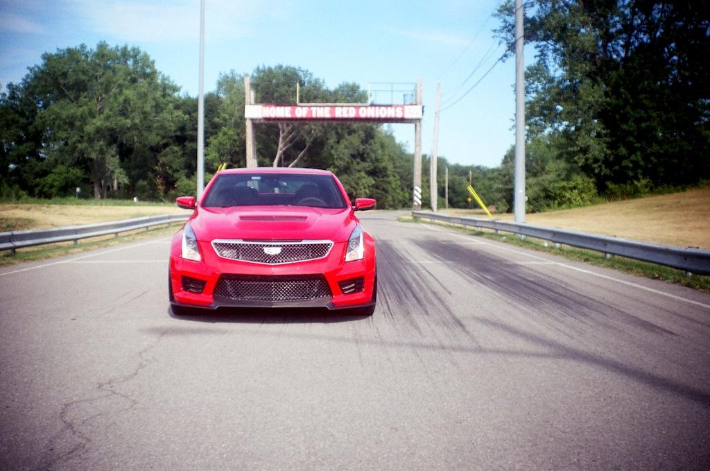 2016 Cadillac ATS-V Source: James Derek Sapienza/Autos Cheat Sheet