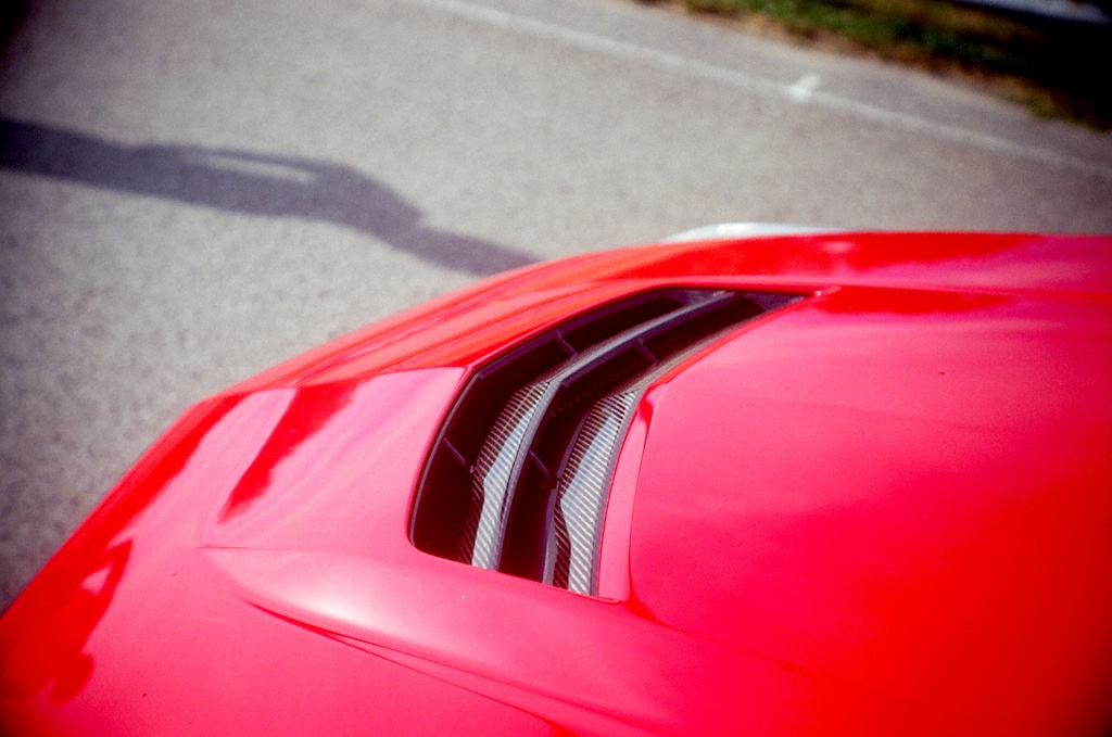 2016 Cadillac ATS-V air intake Source: James Derek Sapienza/Autos Cheat Sheet