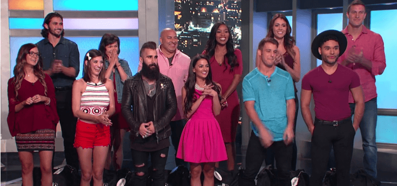 The cast of Big Brother Season 18