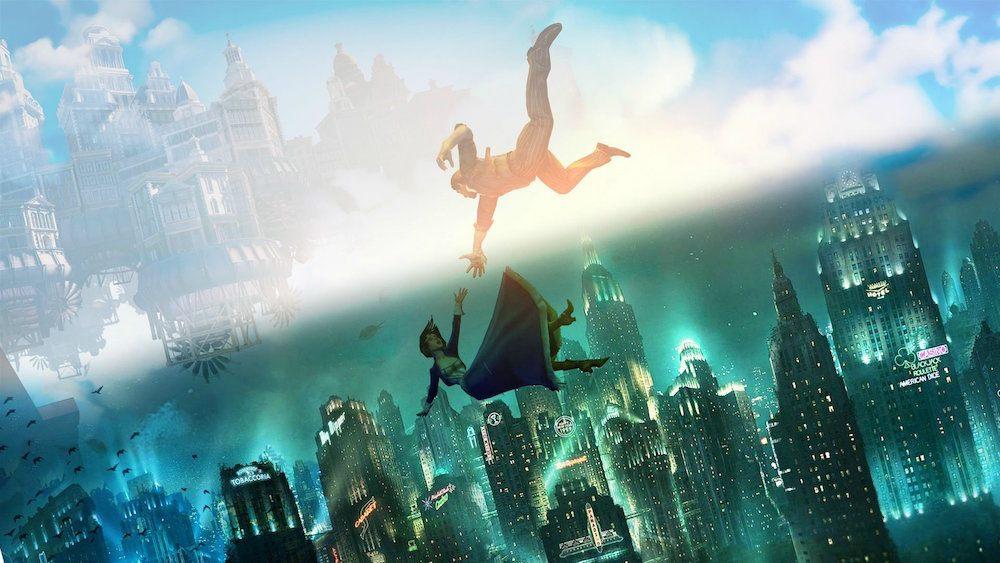 Cover art for Bioshock Infinite.