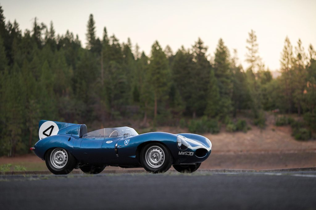 1955 Jaguar D-Type Roadster