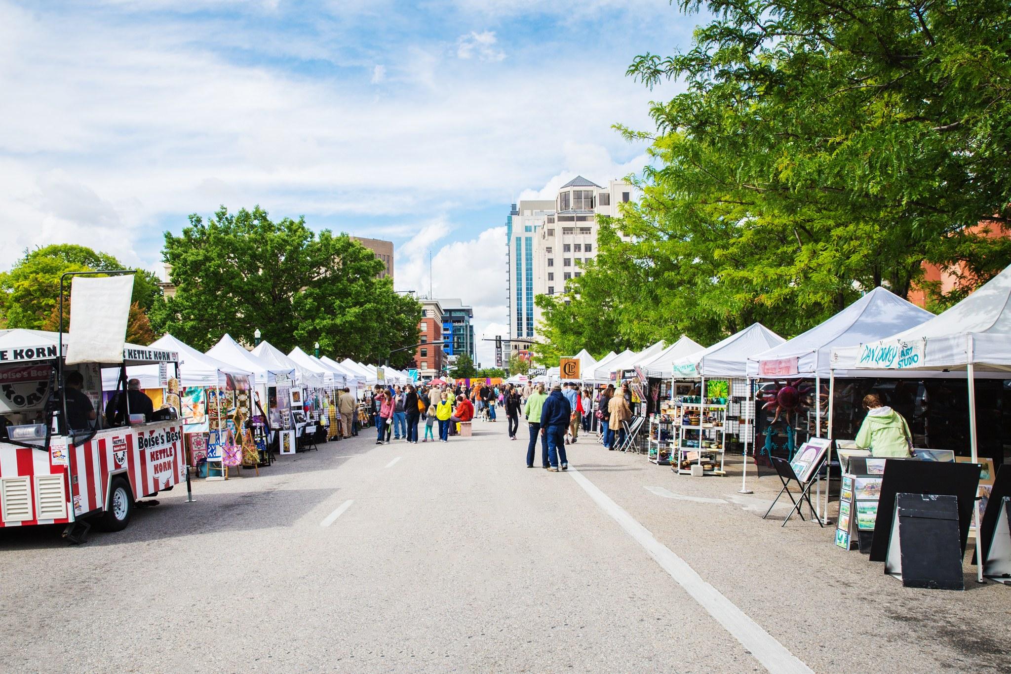 Capital City Public Market, Downtown, Boise