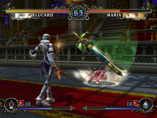 Fighters in Castlevania: Judgement