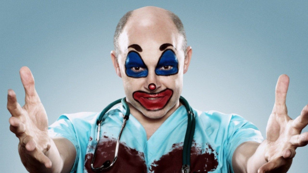 Rob Corddry as a doctor and M.D. in 'Children's Hospital''