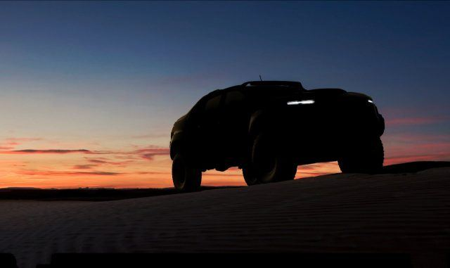 Chevy Colorado-based fuel cell military vehicle