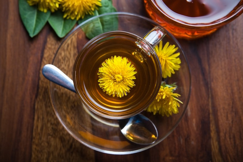 dandelion tisane tea