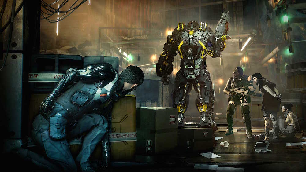 Sneaking around in Deus Ex: Mankind Divided