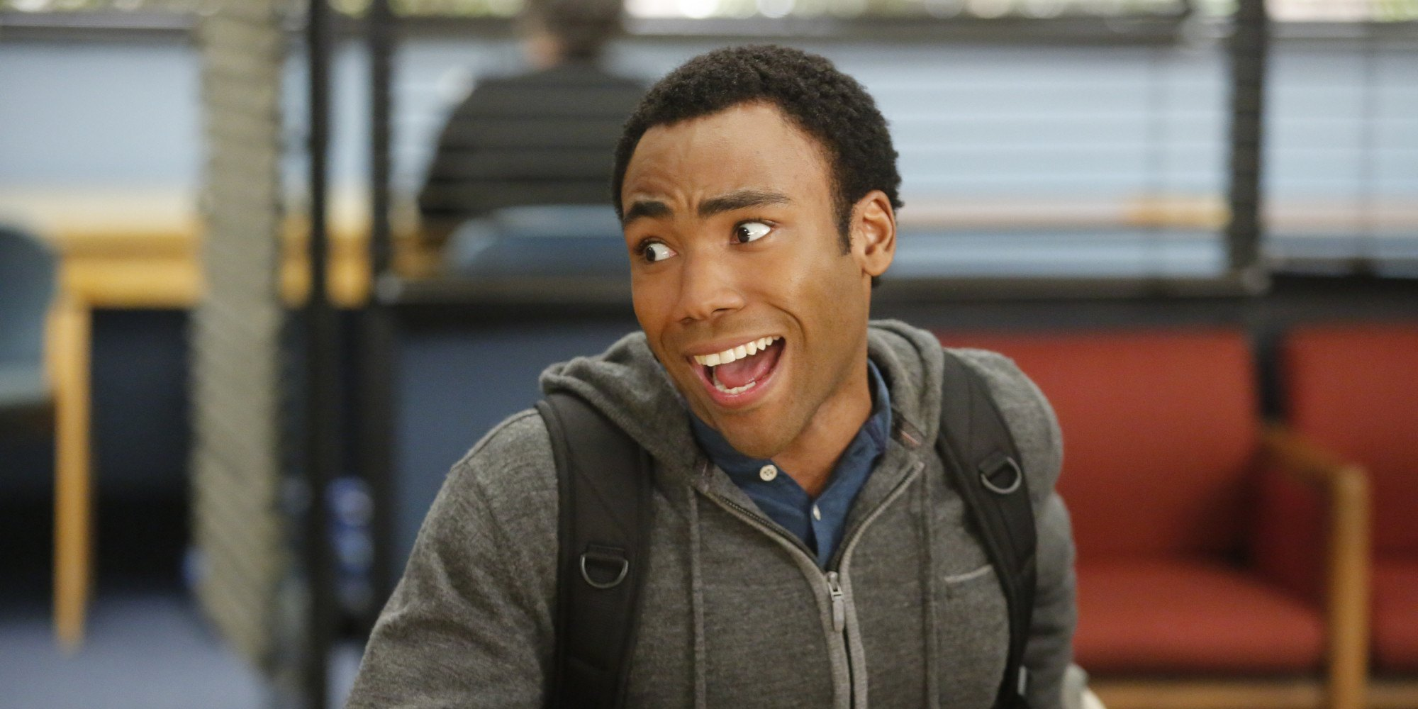 Donald Glover on the tv show Community