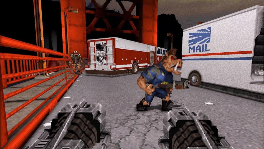 Possible leaked screenshot of Duke Nukem 3D World Tour