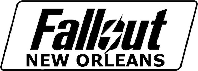 A probably fake Fallout: New Orleans logo