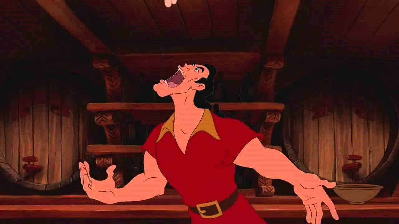 """Gaston"" from Beauty and the Beast knows about building muscle, and his protein intake proves it"