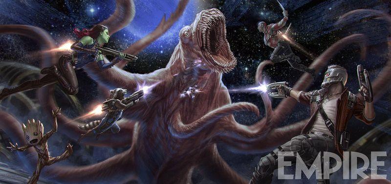Guardians of the Galaxy Vol. 2 | Marvel via Empire Magazine