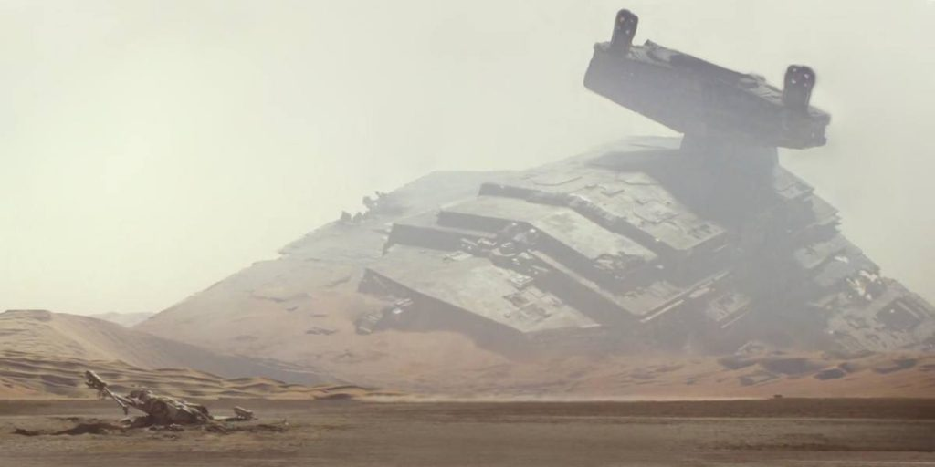 Jakku in Star Wars: The Force Awakens