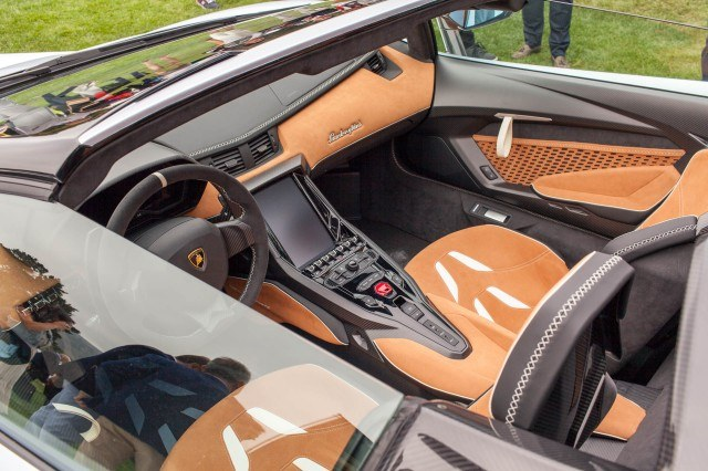 Lamborghini Centenario Roadster, 2016 Monterey Car Week-motorauthority.com