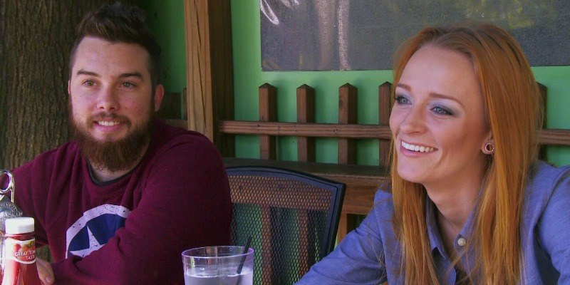 Maci Bookout and Taylor McKinney on Teen Mom