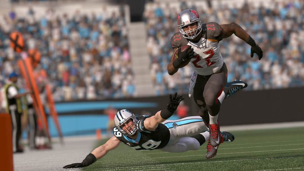 Game day in Madden NFL 17