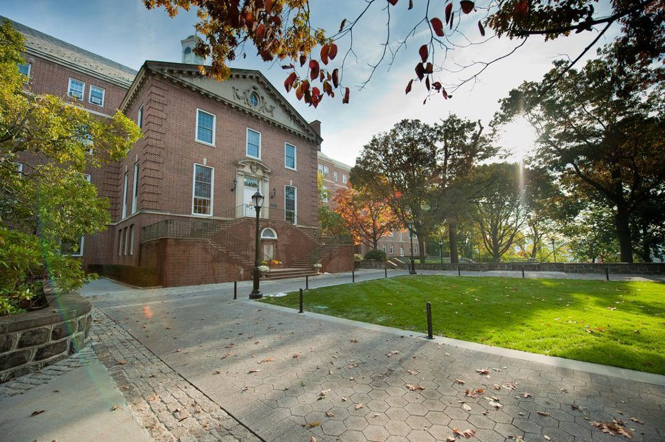 The Manhattan College campus