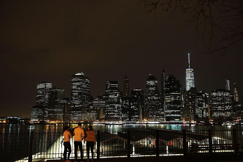 Manhattan skyline