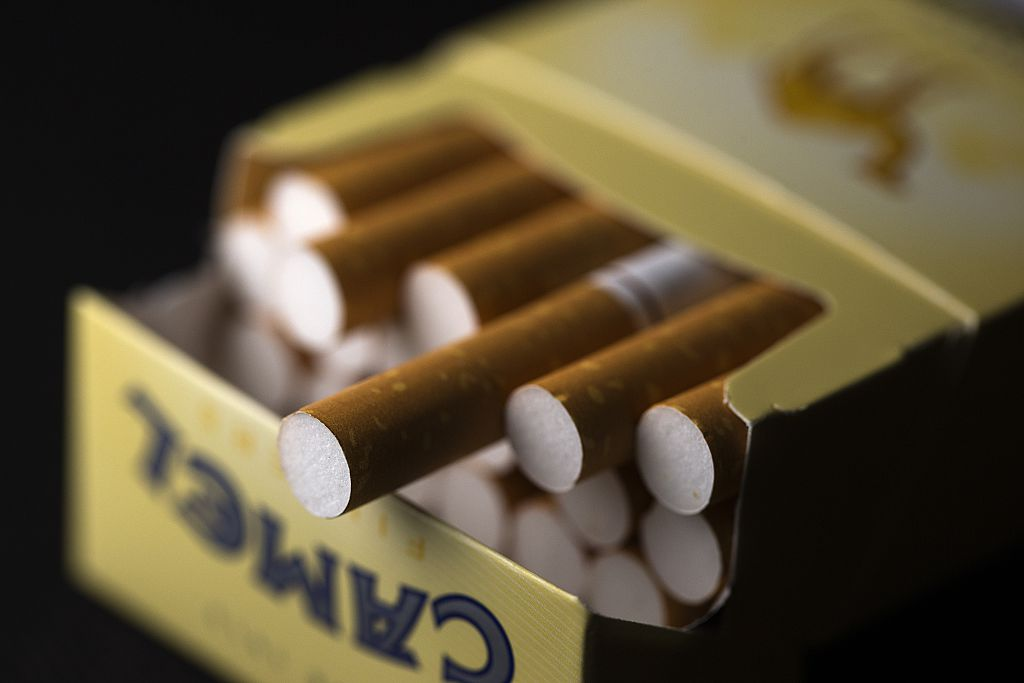 A pack of Camel cigarettes, which will become much harder for people under 21 to purchase if more age-restrictive tobacco laws are passed