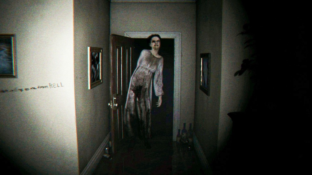 A ghost woman appears in P.T.