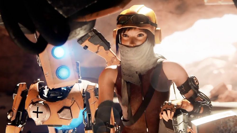 Joule and Mack in ReCore