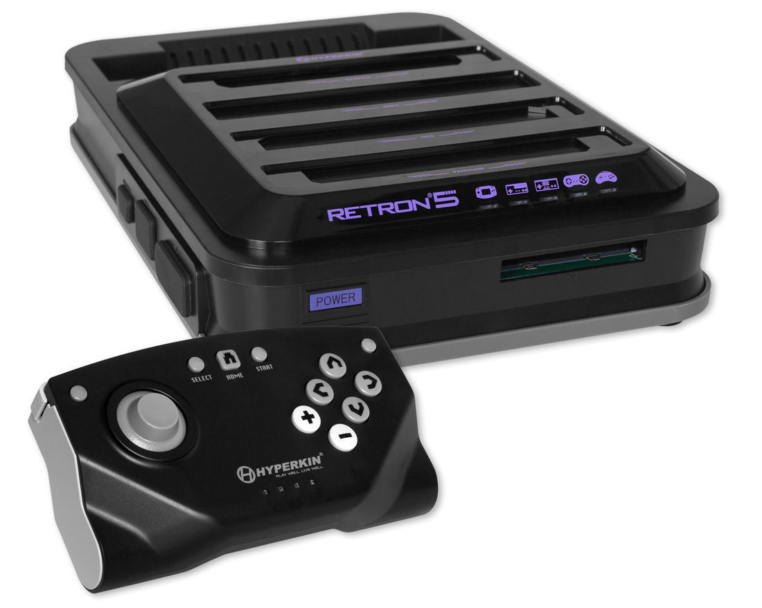 Retron 5 multi-game console