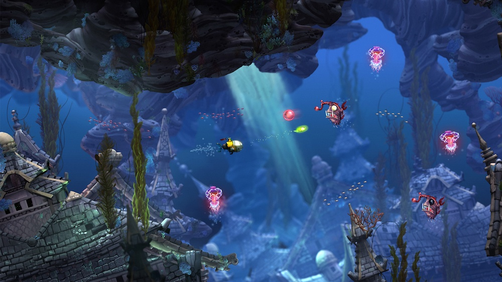 Underwater adventures in Song of the Deep